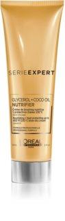 L'Oréal Professionnel Serie Expert Nutrifier cremă hrănitoare și termo-protectoare