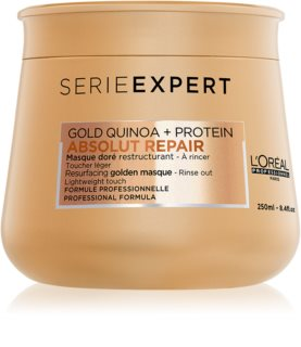 L'Oréal Professionnel Serie Expert Absolut Repair Gold Quinoa + Protein αναγεννητική μάσκα για κατεστραμμένα μαλλιά