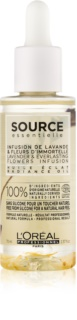 L'Oréal Professionnel Source Essentielle Lavender & Everlasting Flowers Infusion Radiance Oil for Colour-Treated Hair