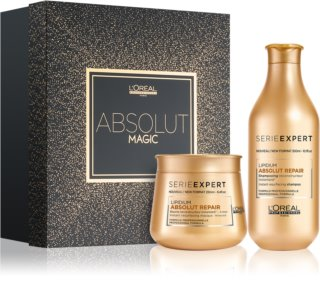 L'Oréal Professionnel Serie Expert Absolut Repair Lipidium Gift Set (for Dry and Damaged Hair)