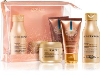 L'Oréal Professionnel Serie Expert Absolut Repair Lipidium coffret cosmétique pour cheveux très abîmés