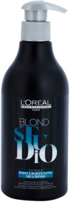 L'Oréal Professionnel Blond Studio Post Lightening Sampon pentru par decolorat si evidențiat
