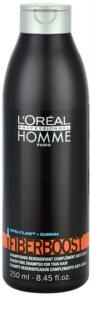 L'Oréal Professionnel Homme Fiberboost shampoing pour des cheveux plus épais