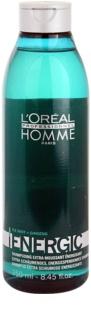 L'Oréal Professionnel Homme Energic szampon oczyszczający do codziennego użytku