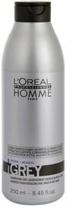 L'Oréal Professionnel Homme Grey sampon pentru par grizonat