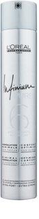 L'Oréal Professionnel Infinium Pure хипоалергенен лак за коса с екстра силна фиксация