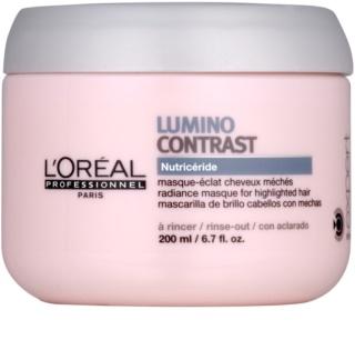 L'Oréal Professionnel Série Expert Lumino Contrast регенерираща маска  за коса с кичури