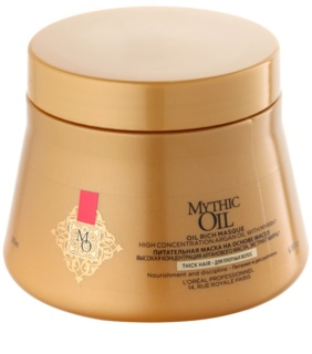 L'Oréal Professionnel Mythic Oil подхранваща маска за гъста и непокорна коса