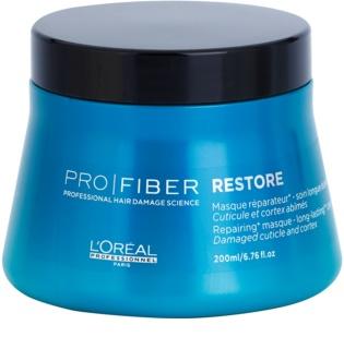 L'Oréal Professionnel Pro Fiber Restore mascarilla reparación para cabello dañado, químicamente tratado