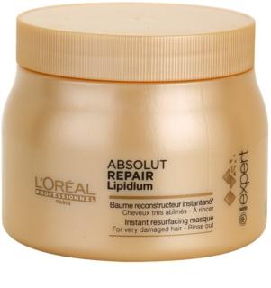 L'Oréal Professionnel Série Expert Absolut Repair Lipidium megújító maszk nagyon sérült hajra