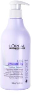 L'Oréal Professionnel Série Expert Liss Unlimited shampooing lissant pour cheveux indisciplinés et frisottis