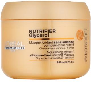 L'Oréal Professionnel Série Expert Nutrifier Maske mit ernährender Wirkung für trockenes und beschädigtes Haar