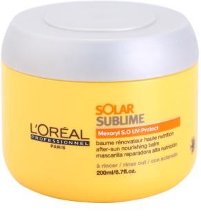 L'Oréal Professionnel Série Expert Solar Sublime Nourishing Mask For Hair Stressed By Sun