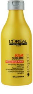 L'Oréal Professionnel Série Expert Solar Sublime регенериращ шампоан  за изтощена от слънце коса