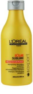 L'Oréal Professionnel Série Expert Solar Sublime regeneráló sampon nap által károsult haj