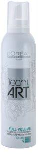 L'Oréal Professionnel Tecni Art Volume pianka mocno utrwalająca do zwiększenia objętości
