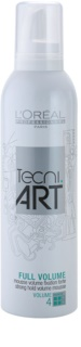 L'Oréal Professionnel Tecni Art Volume Strong Hold Fixation Mousse with Volume Effect