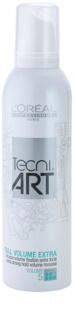 L'Oréal Professionnel Tecni Art Volume Hair Mousse For Extra Volume