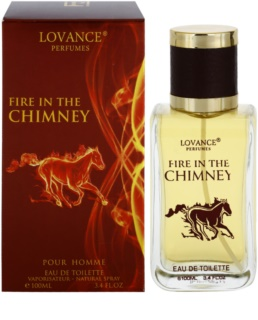 Lovance Fire In The Chimney Eau de Toilette para homens 100 ml