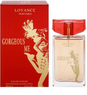 Lovance Gorgeous Me Eau de Parfum para mulheres 100 ml