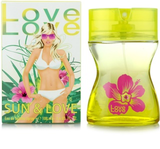 Love Love Sun & Love Eau de Toilette für Damen 100 ml