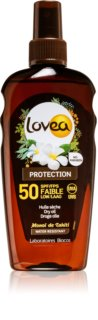 Lovea Protection suchy olejek do opalania SPF 50