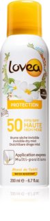 Lovea Protection brume solaire en spray SPF 50