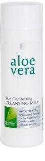 LR Aloe Vera Face Care ніжне очищаюче молочко для сухої та чутливої шкіри