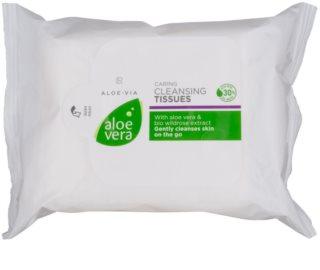 LR Aloe Vera Face Care очищуючі серветки для чутливої шкіри