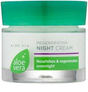LR Aloe Vera Face Care noční regenerační krém s hydratačním účinkem