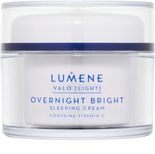 Lumene Valo [Light] creme de noite iluminador com vitamina C