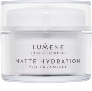 Lumene Lähde [Source of Hydratation] matterende hydratatiecrème-gel 24h