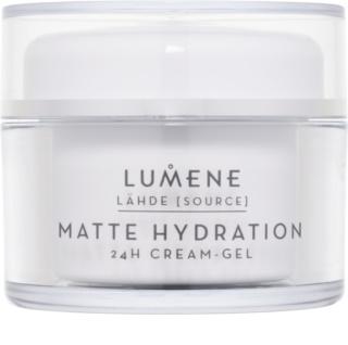 Lumene Lähde [Source of Hydratation] mattító hidratáló géles krém 24h