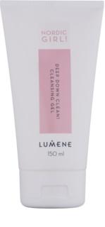 Lumene Nordic Girl! Deep Down Clean! дълбоко почистващ гел за кожа с несъвършенства
