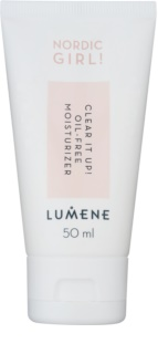 Lumene Nordic Girl! Clear it Up! Hydraterende Emulsie Olievrij