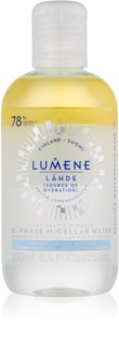 Lumene Lähde [Source of Hydratation] agua micelar bifásica