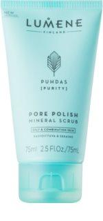 Lumene Cleansing Puhdas [Purity] oczyszczający peeling mineralny do skóry tłustej i mieszanej