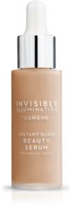 Lumene Invisible Illumination освітлююча сироватка-тональний крем для всіх типів шкіри