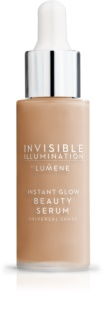 Lumene Invisible Illumination Sofort aufhellendes Serum - Make-up für alle Hauttypen