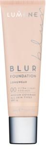 Lumene Nordic Chic Blur стійкий тональний крем для всіх типів шкіри SPF 15