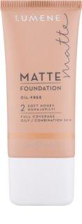 Lumene Matt Control Foundation  voor Normale tot Gemengde Huid