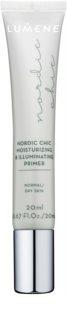 Lumene Nordic Chic зволожуюча та освітлююча основа під макіяж для нормальної та сухої шкіри