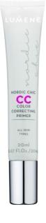 Lumene Nordic Chic CC основа під макіяж для освітлення та вирівнювання тону шкіри