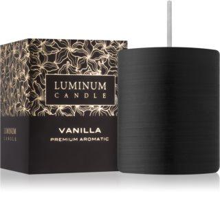 Luminum Candle Premium Aromatic Vanilla aроматична свічка мала (⌀ 50–60 mm, 15 h)