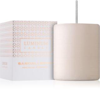 Luminum Candle Premium Aromatic Sandalwood Geurkaars   Klein (⌀ 50 - 60 mm, 15 h)