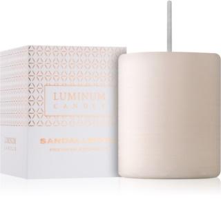 Luminum Candle Premium Aromatic Sandalwood Αρωματικό κερί   μικρή (⌀ 50 - 60 mm, 15 h)
