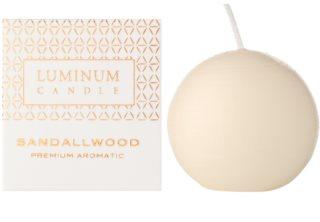 Luminum Candle Premium Aromatic Sandallwood lumanari parfumate    decorațiune, mică (Ø 60 mm, 15 h)