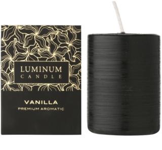 Luminum Candle Premium Aromatic Vanilla dišeča sveča    srednja (Ø 60 - 80 mm, 32 h)