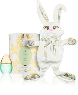 M. Micallef Baby's Collection Petit Coeur parfémovaná voda pro děti 30 ml + hračka