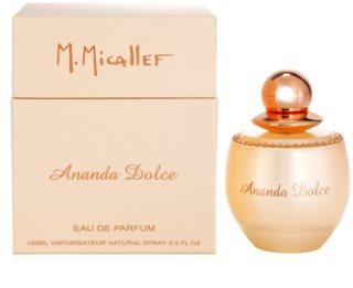 M. Micallef Ananda Dolce parfémovaná voda pro ženy 100 ml